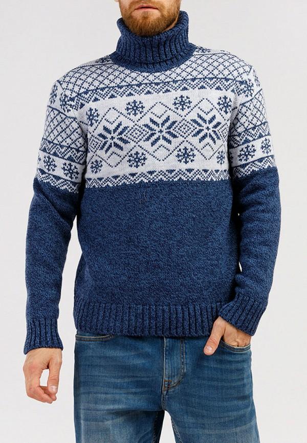 мужской свитер finn flare, синий