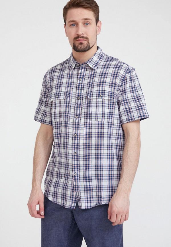 мужская рубашка finn flare, голубая