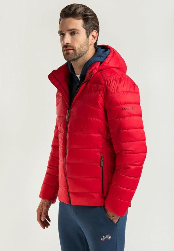 мужская куртка finn flare, красная