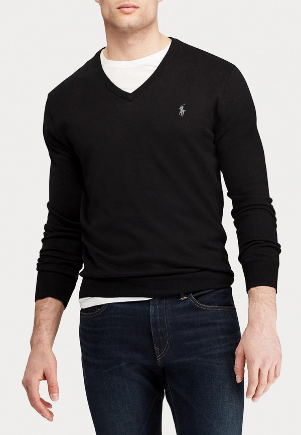 мужской пуловер polo ralph lauren, черный