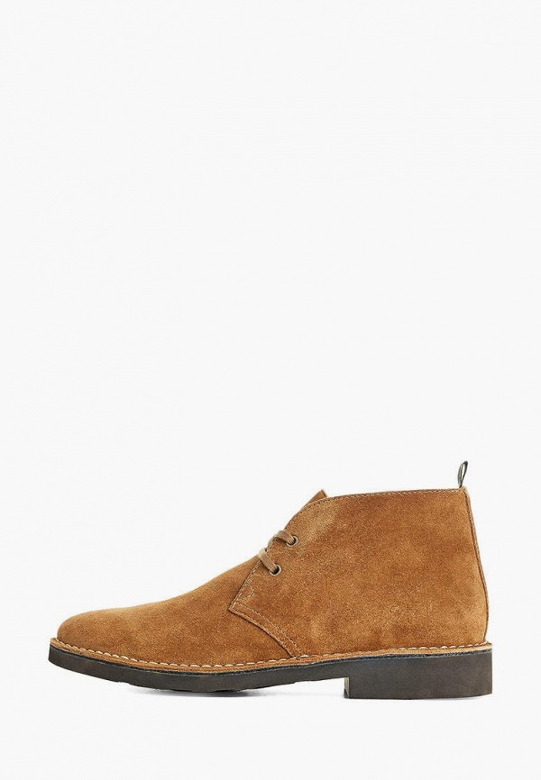 мужские ботинки polo ralph lauren, коричневые