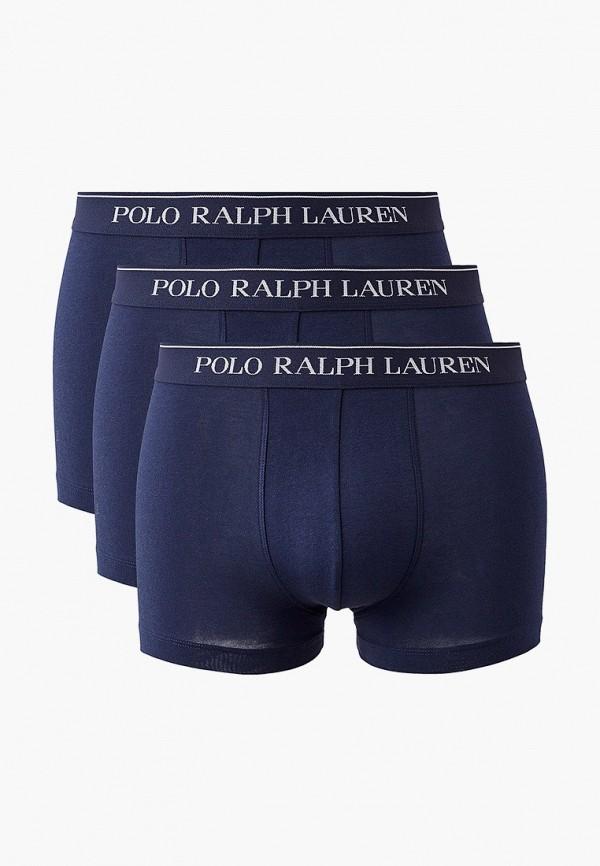 мужские трусы-боксеры polo ralph lauren, синие