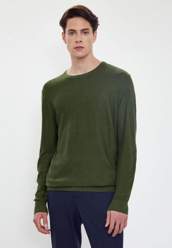 Джемпер Finn Flare зеленого цвета