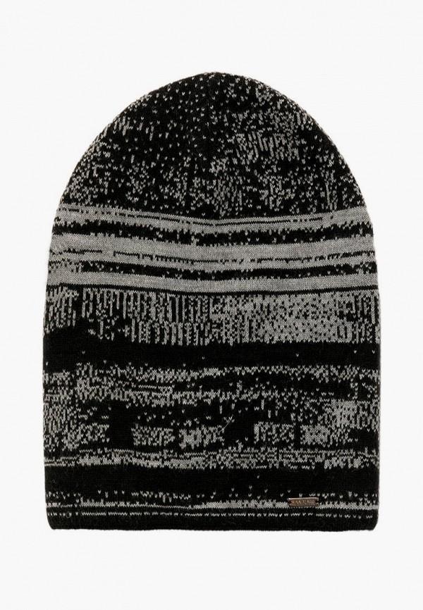 мужская шапка finn flare, черная