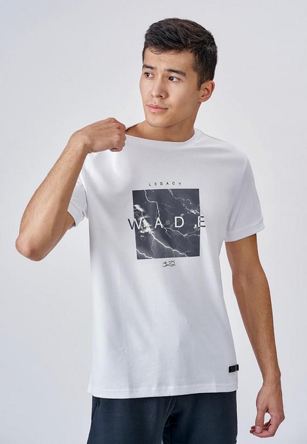 мужская спортивные футболка li-ning, белая