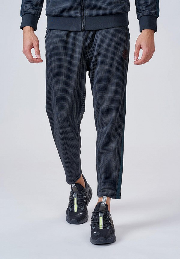 мужские спортивные брюки li-ning, черные
