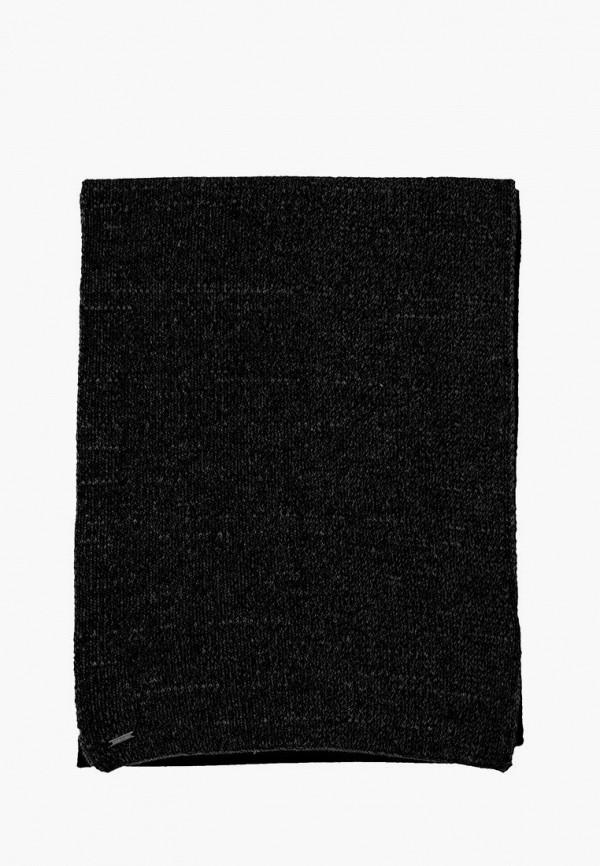 мужской шарф finn flare, черный