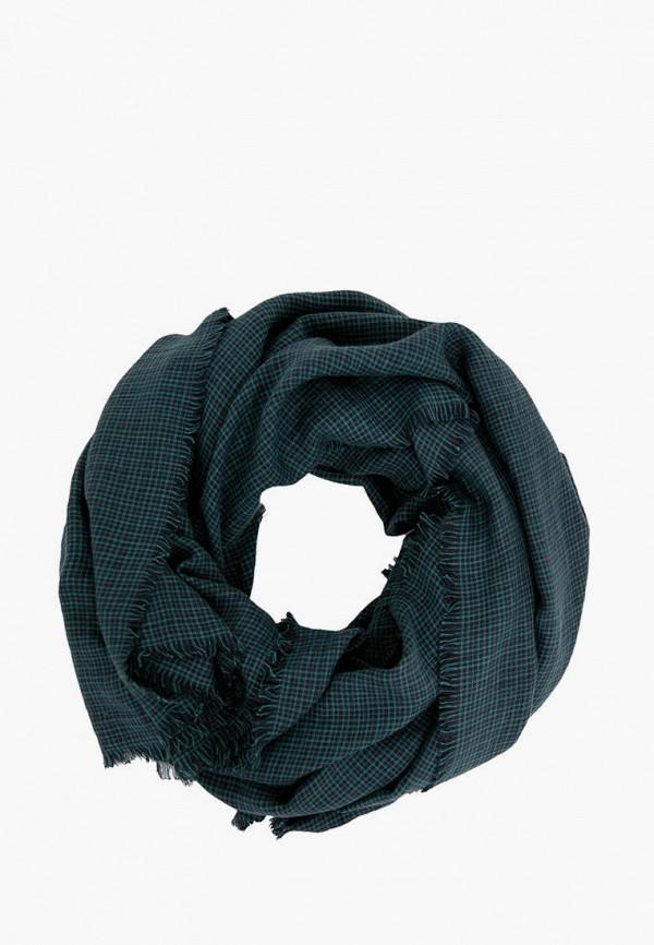 мужской шарф finn flare, зеленый