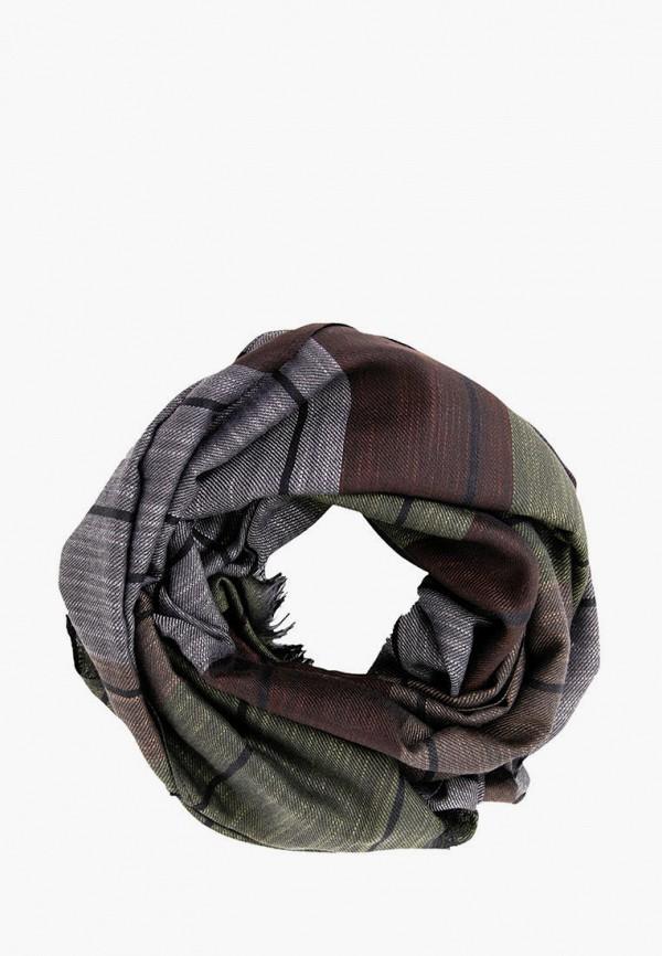 мужской шарф finn flare, разноцветный