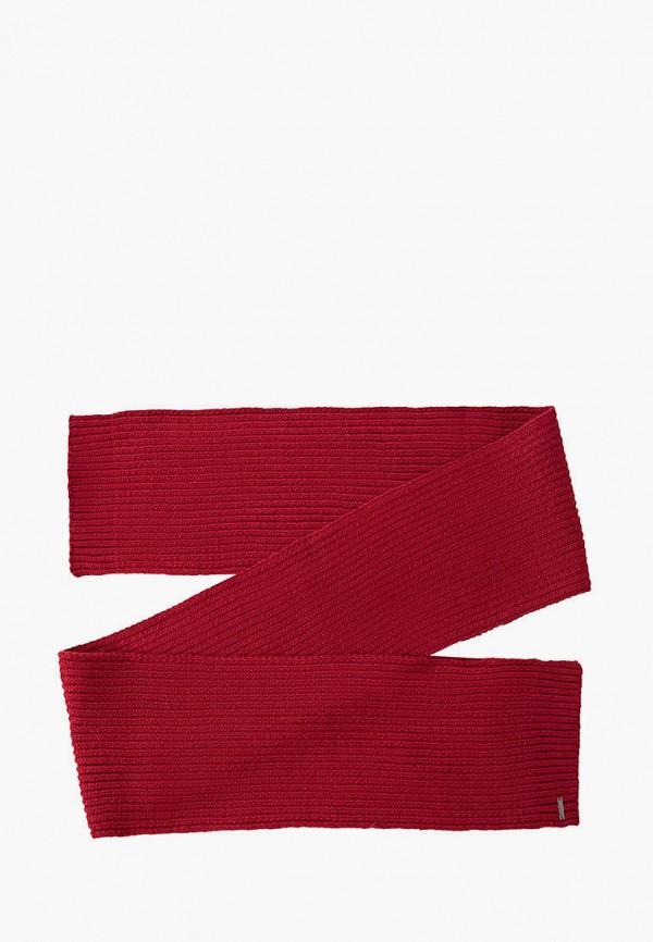 мужской шарф finn flare, красный