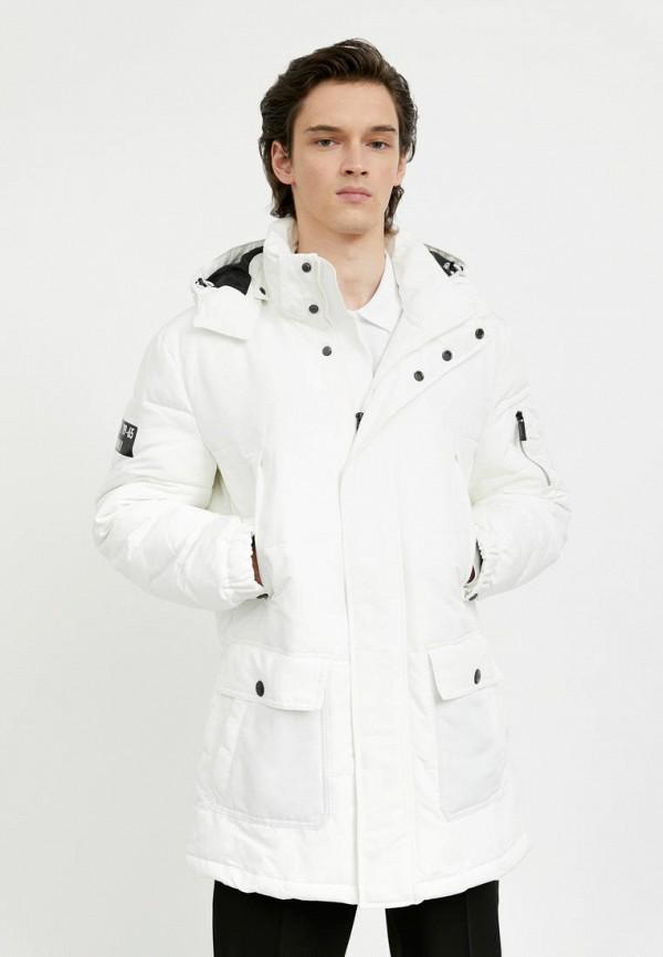 мужская куртка finn flare, белая