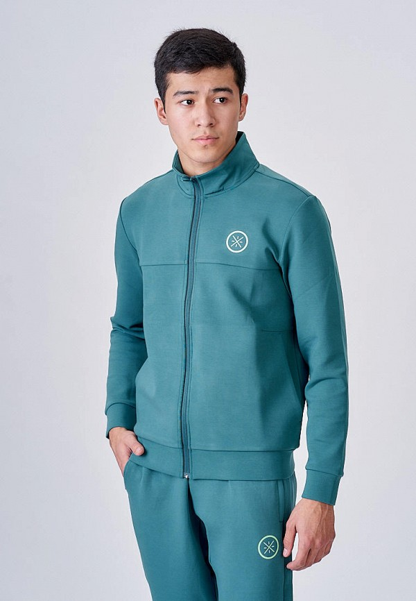 мужская олимпийка li-ning, бирюзовая
