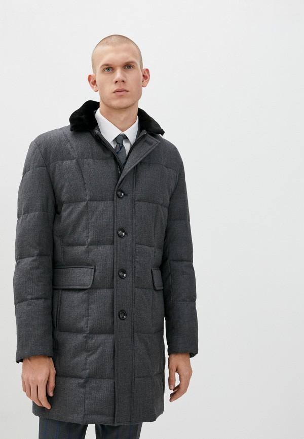 мужская утепленные куртка bazioni, серая