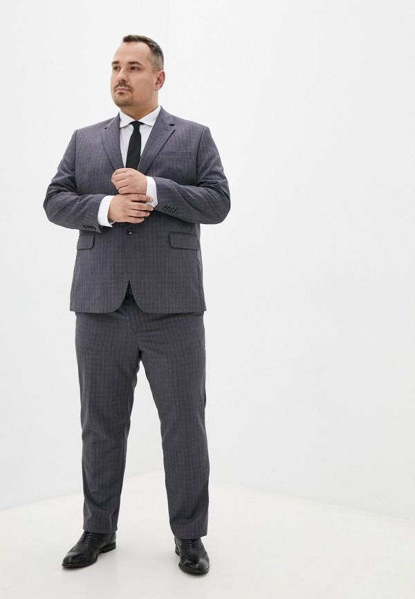 мужской костюм venzano, серый