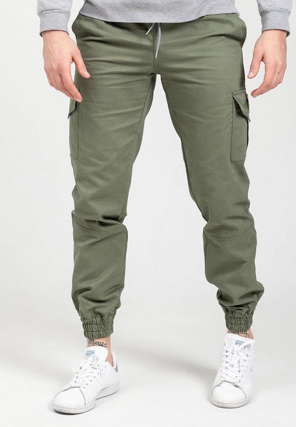 мужские брюки feel and fly, зеленые