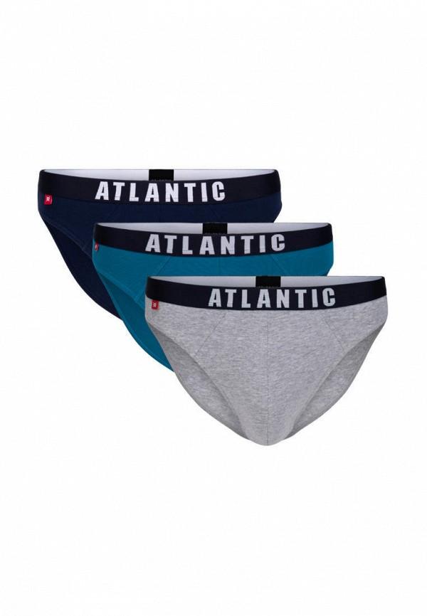 мужские трусы atlantic, разноцветные