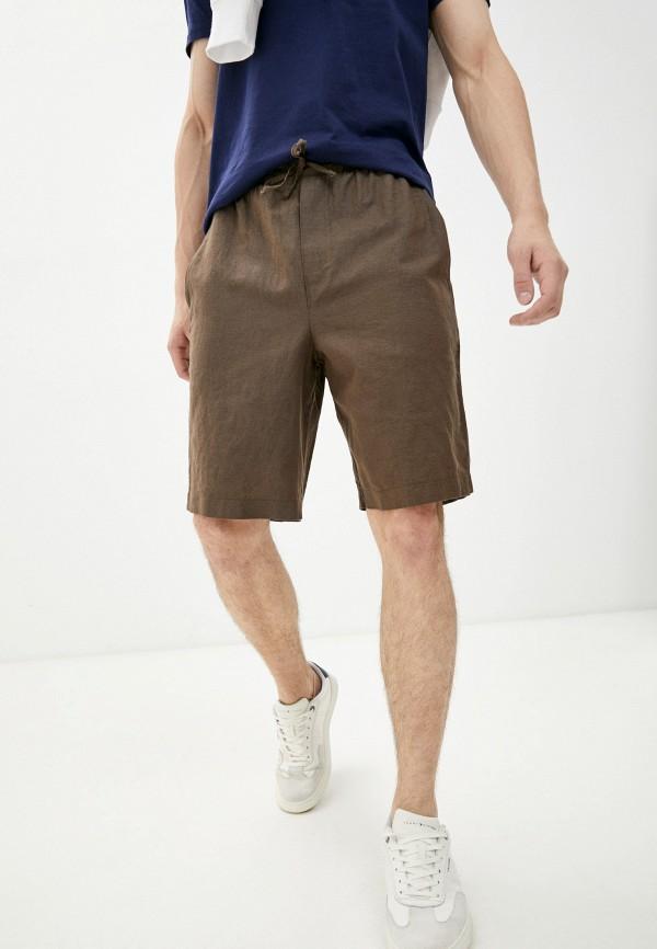 мужские повседневные шорты mark formelle, коричневые