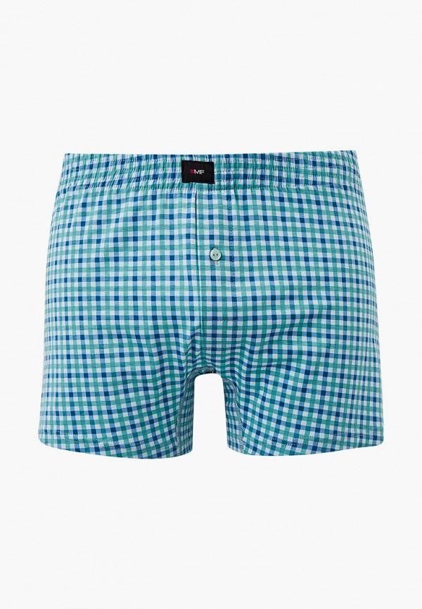 мужские трусы-шорты mark formelle, голубые