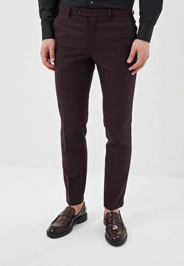 Фото - Мужские брюки Bazioni бордового цвета