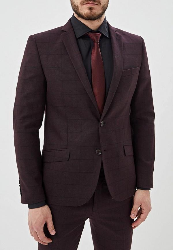 Пиджак Bazioni Bazioni MP002XM20LL2 бордовый пиджак женский