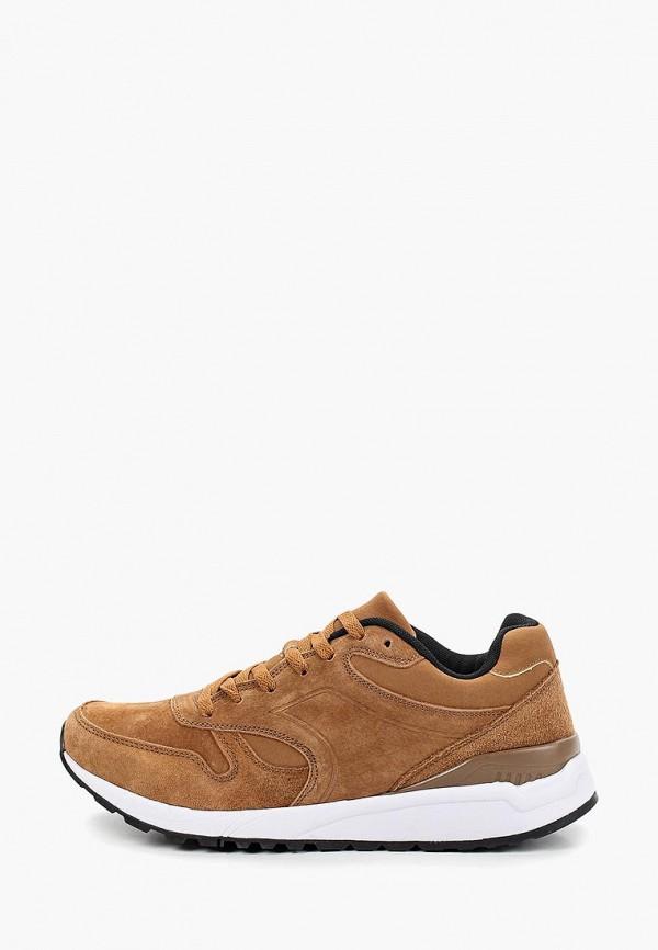 мужские кроссовки sigma, коричневые