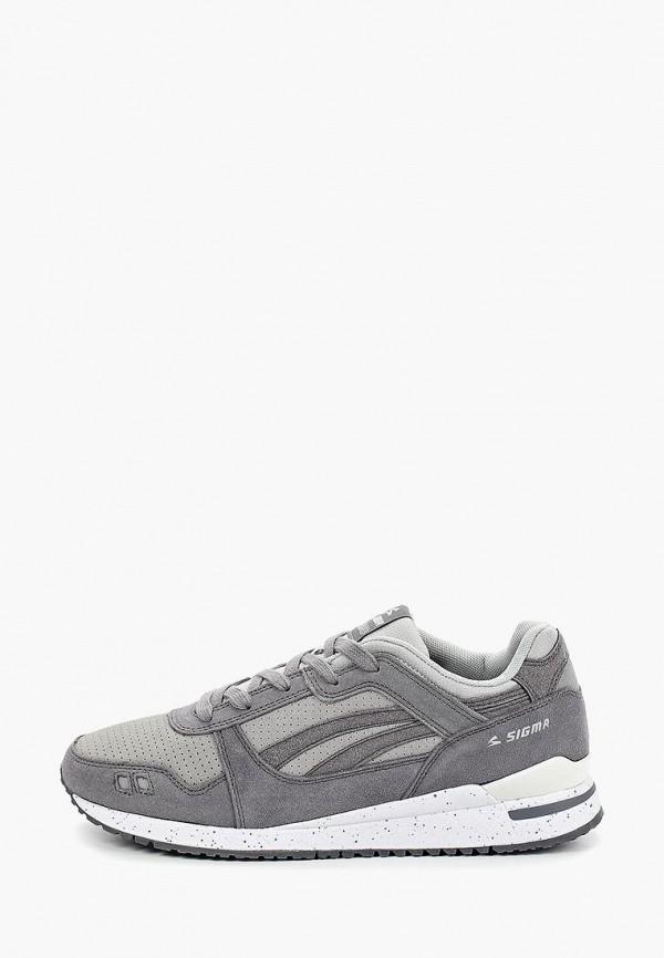 Купить Мужские кроссовки Sigma серого цвета