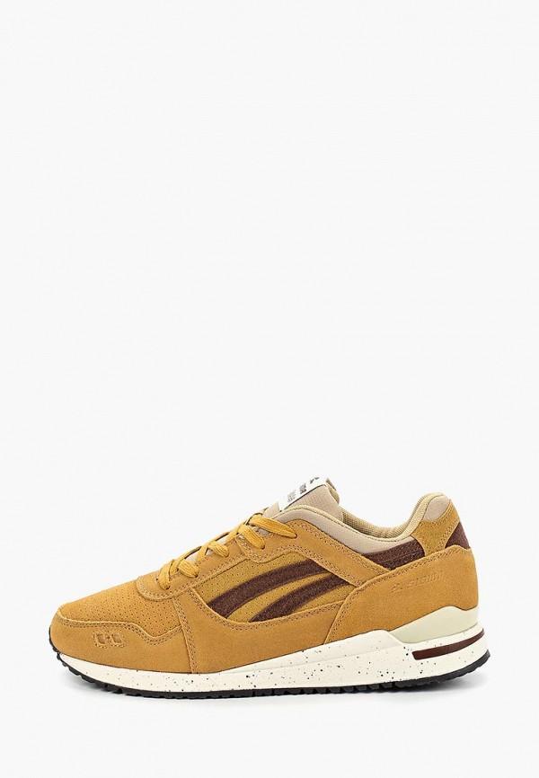 мужские кроссовки sigma, желтые