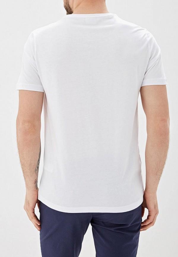 Фото 3 - Мужскую рубашку U.S. Polo Assn. голубого цвета