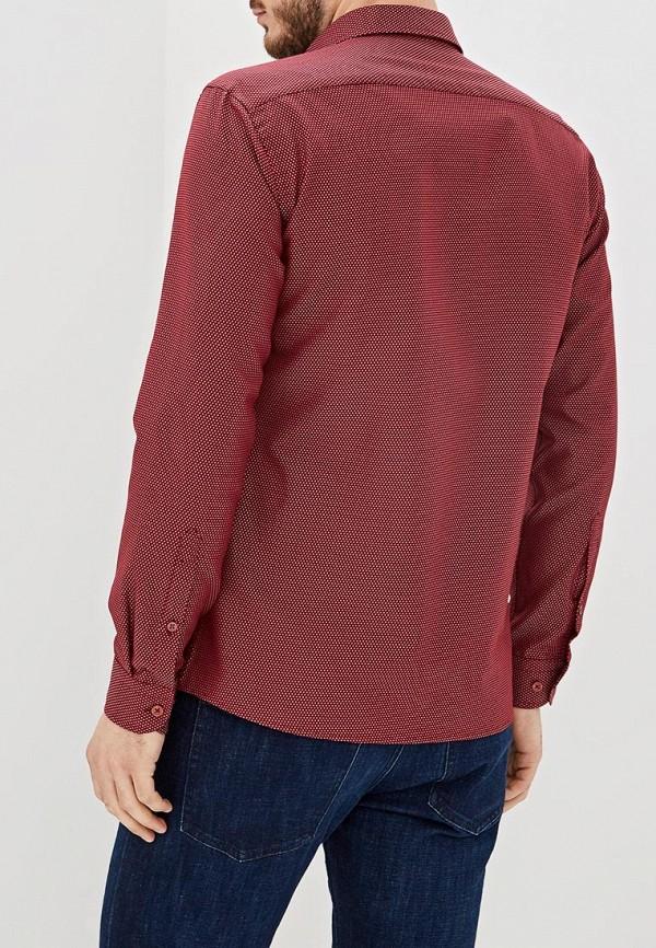 Фото 3 - Мужскую рубашку U.S. Polo Assn. бордового цвета