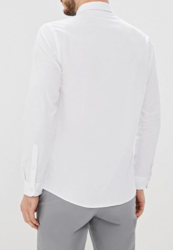 Фото 3 - Мужскую рубашку U.S. Polo Assn. белого цвета