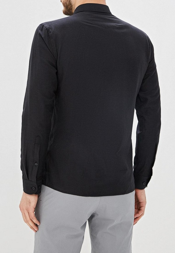 Фото 3 - Мужскую рубашку U.S. Polo Assn. черного цвета