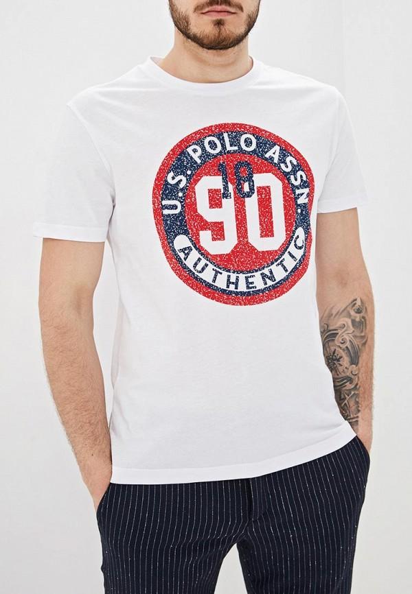 Футболка U.S. Polo Assn. U.S. Polo Assn. MP002XM20LMY цена