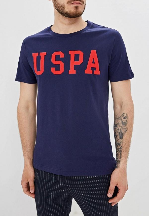 Футболка U.S. Polo Assn. U.S. Polo Assn. MP002XM20LN7 футболка u s polo assn u s polo assn mp002xw0r5uw