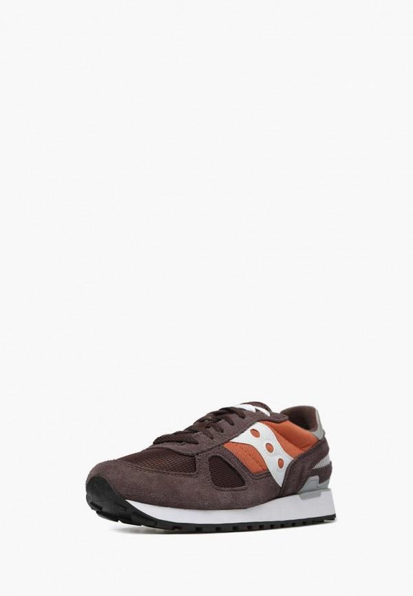 мужские кроссовки saucony, коричневые