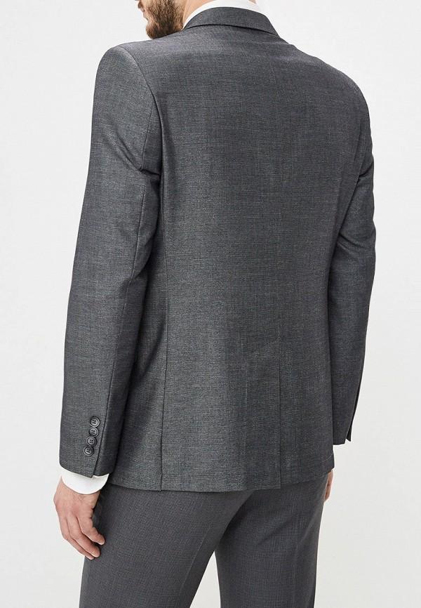 Фото 6 - Пиджак Mishelin серого цвета