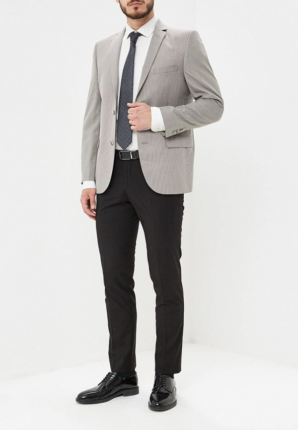 Фото 5 - Пиджак Mishelin серого цвета