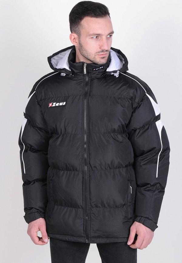 мужская куртка zeus, черная