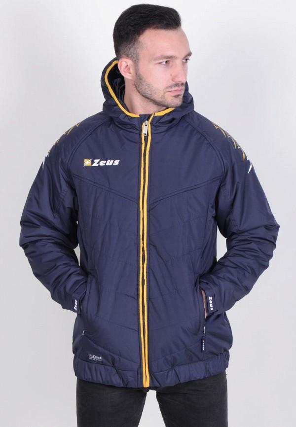 мужская куртка zeus, синяя