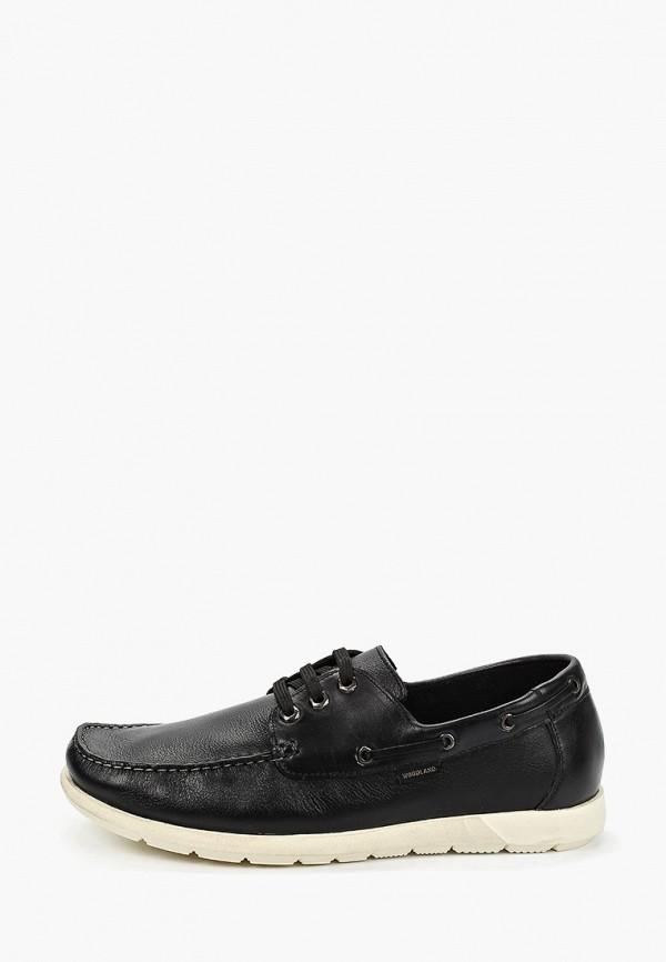 мужские ботинки woodland, черные