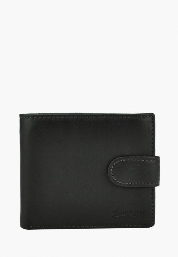 мужской кошелёк royalbag, черный
