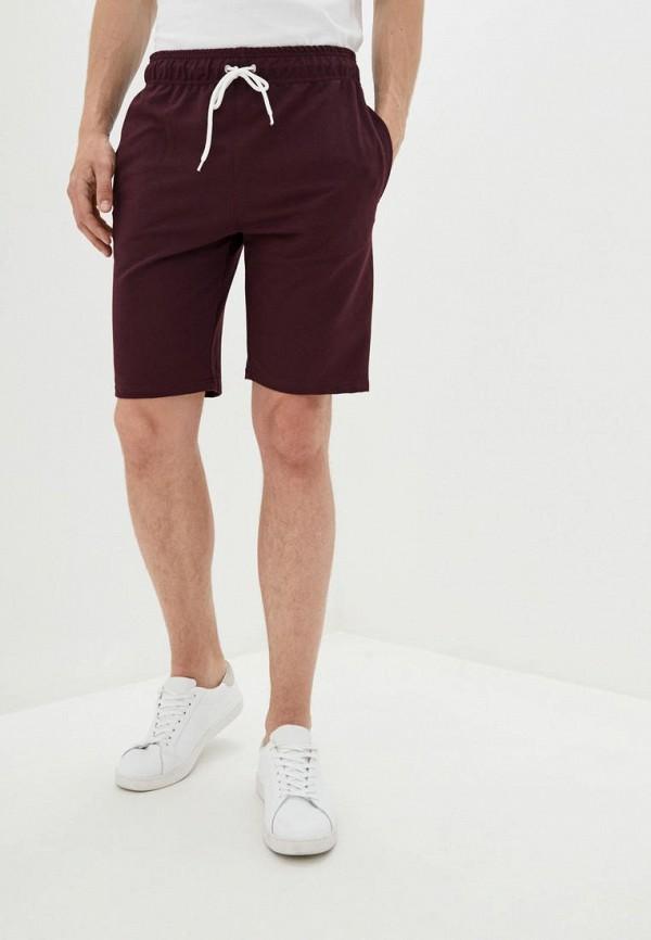 мужские повседневные шорты hibrand, бордовые