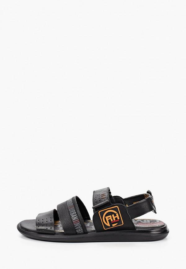 мужские сандалии nine lines, черные