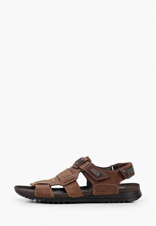 мужские сандалии nine lines, коричневые