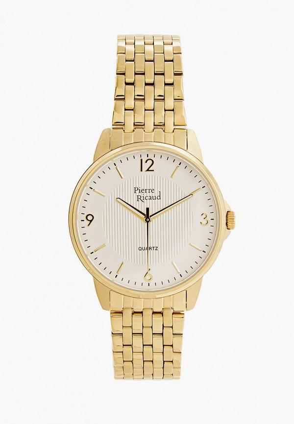 мужские часы pierre ricaud, золотые