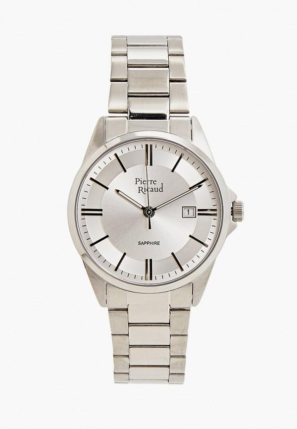 мужские часы pierre ricaud, серебряные