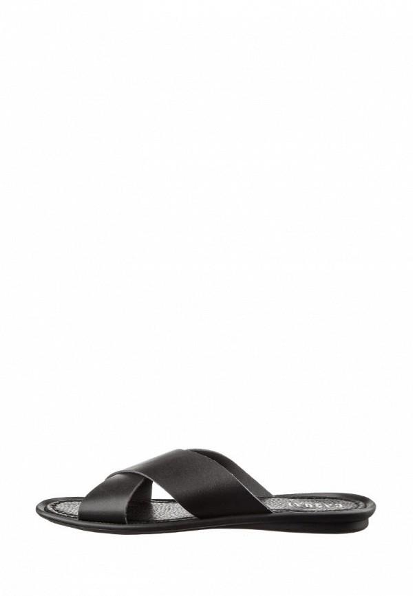мужские сандалии casual, черные