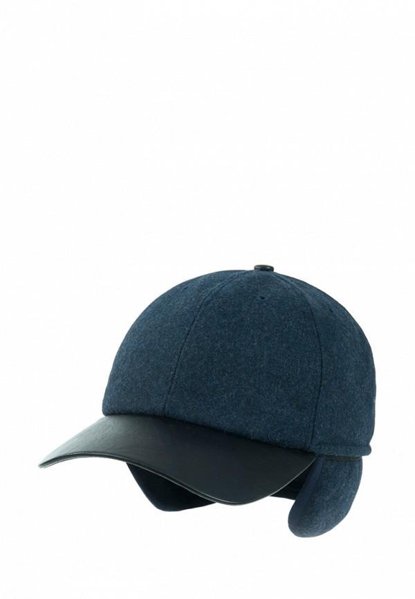 мужская бейсболка anna bask, синяя