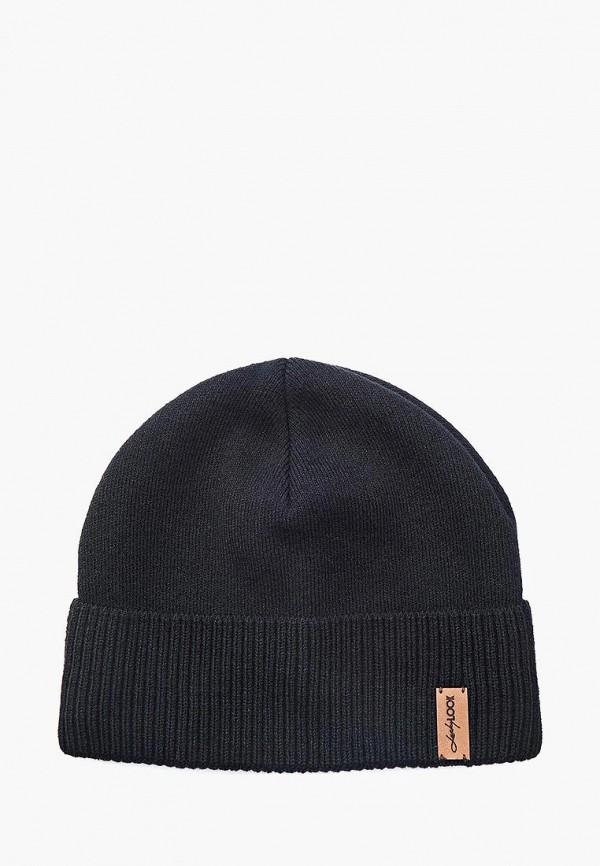 мужская шапка luckylook, черная