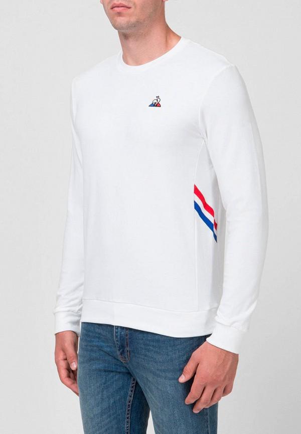 мужской лонгслив le coq sportif, белый