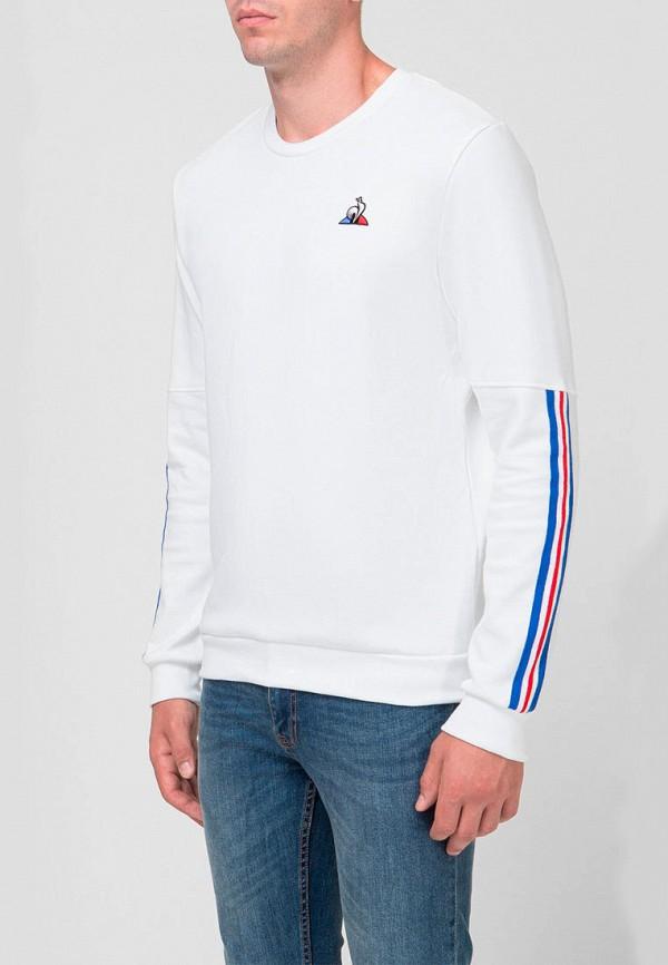 мужской свитшот le coq sportif, белый